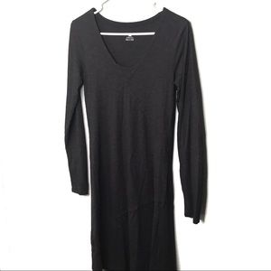 Horny Toad black long sleeve dress size small